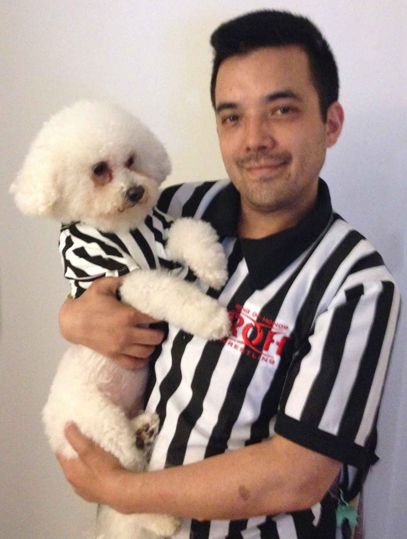 Dan Tanaka and Rufferee Diamond Baby