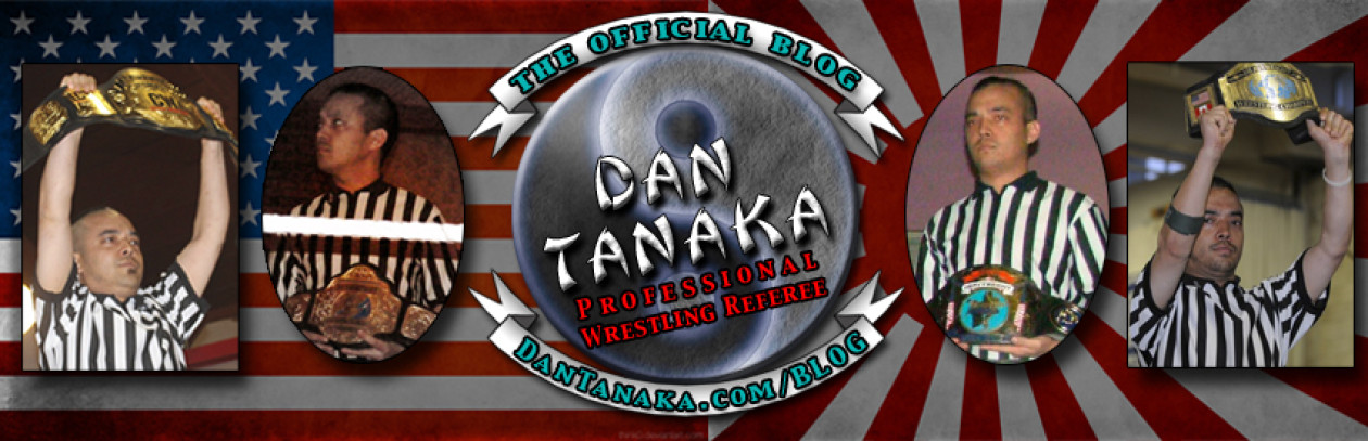 Dan Tanaka, Professional Wrestling Referee