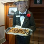 Creepy Old Guy offering treats in Frankenmuth, MI.